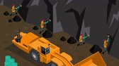 broca : Work in mine video animation footage