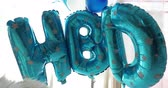 HBD balloon decorate in happy birthday celebration party