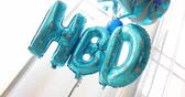 helyum : HBD balloon decorate in happy birthday celebration party