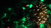 piscar : Holiday lights background video