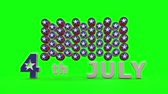 Fourth of July with Chroma key Backgraond