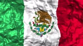 aztek : Mexican Flag waving