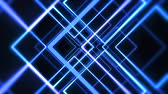 Colorful dance floor with several shining. HD Stock Footage