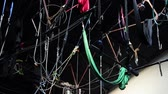 cordame : Ropes for Trapeze Training. Zoom In.