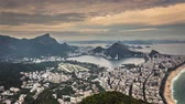 america : Rio de Janeiro panning panorama Time Lapse in Full HD 1080p, Brazil Stock Footage