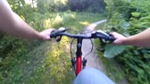 bike ride : Bicycle Action Camera Forest Hand rudder