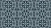 mandala pattern : Abstract kaleidoscope motion background. Sequence graphics ornaments patterns. Blue white black sequins dark motifs. Seamless loop. Looping structure backdrop, Nice seamless loop background.
