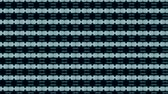 séquence vidéo : Abstract kaleidoscope motion background. Sequence graphics ornaments patterns. Blue white black sequins dark motifs. Seamless loop. Looping structure backdrop, Nice seamless loop background.