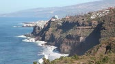 景觀 : Tenerife - landscape near Puerto de la Cruz, Orotava. Cost ocean sea nature scenery on beautiful day on Tenerife, Canary Islands, Spain.