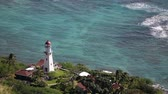 farol : Diamond Head Lighthouse, Honolulu, Oahu, Hawaii, USA.