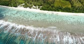 коралловый : French Polynesia Tahiti aerial view of island Huahine and Motu Murimaora, coral reef lagoon and Pacific Ocean. Tropical paradise.