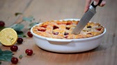flaky : Delicious Homemade Cherry Pie with a Flaky Crust.