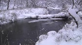 Snow River dancing behind Sun Yukawa