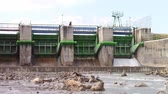 hydrology : Hydro electric dam harnessing water power by controlled flow release and conversion into electricity
