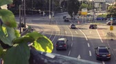 traffic time lapse city, darmstadt (germany) Wideo