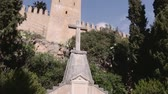 kale : Monument, Arta, Mallorca Stok Video