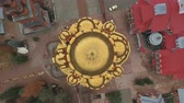 Aerial shot of the main dome of Holy Trinity Convent of Mercy.