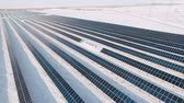 living environment : solar power plant on the outskirts of the city