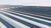 gider : alternative energy solar power plant in the winter