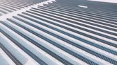 living environment : Frozen solar panels