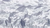 papier : Hand drawn gray camouflage video background
