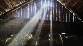 cimborák : Sunlight penetrates through the gaps of the boards of the old barn HD 1920x1080