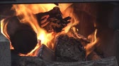nie : Fire inside the fire pit 4. Wideo