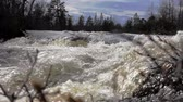 hydrology : The rapid flow of the river