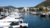 sailboat : Marmaris, Turkey - April 15, 2017: Mediterranean yachting, boats and yachts