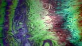 soluk : Abstract colorful fluid background of vibrant neon colors and patterns