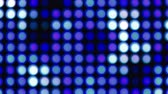 piscar : Blue and white large bokeh lights background for party Stock Footage