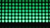 piscar : Lines green bokeh lights effect background for party Stock Footage