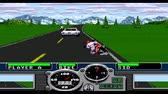 gp : URYUPINSK. RUSSIA - JANUARY 22, 2017: Gameplay game console Sega Genesis Road Rash - retro console games on January 22 2017 in Urupinsk, Russia