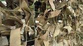 haki : Army Military Camouflage Net. Protective Khaki Disguise Surface