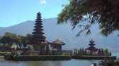 Pura Ulun Danu temple on a lake Beratan in Bali, Indonesia