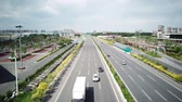 Interstate View in China Stock Footage