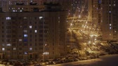 район : Timelapse night city