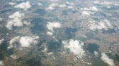 arsa : Flight by plane. Top view from the window