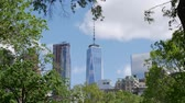 yeni : New York (One World Trade Center) Stok Video