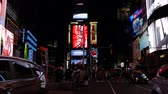 yeni : New York (Times Square) Stok Video