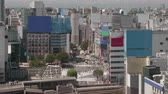 TimeLapse - Landscape of the city of Tokyo Shibuya in Japan