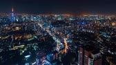 automóvel : Time-lapse of Tokyo at night from Roppongi