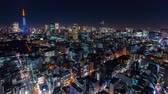 intersection : Time-lapse of Tokyo at in Minato Stock Footage