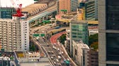 japonês : Time-lapse of Tokyo highways in the morning