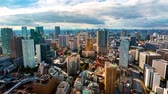 tokio : Time-lapse of the Tokyo skyline in the day time Wideo