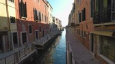 benátky : Nice view at canal in Venice, Italy