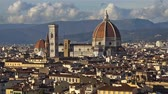 toscano : Beautiful views of Florence and Cathedral Santa Maria del Fiore, Florence, Italy. Zoom.