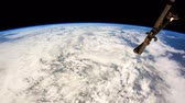 questões : Planet Earth seen from the ISS. Stock Footage