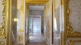 monarcha : St. Petersburg, Tsarskoe Selo, Russia, June 2018: Interior of Catherine Palace in Catherine park in Tsarskoe Selo near Saint Petersburg, Russia.