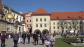 Krakow, Poland - Spring, 2018 Old Town of Krakow. Wawel Royal Castle.